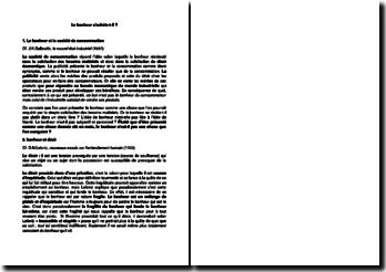 Le bonheur s'achète-t-il ? d'après J.K.Galbraith, le nouvel état industriel (1967)