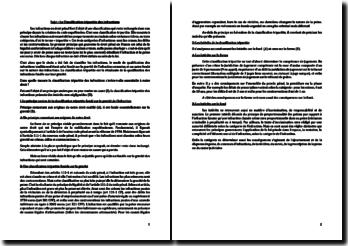 La Classification tripartite des infractions
