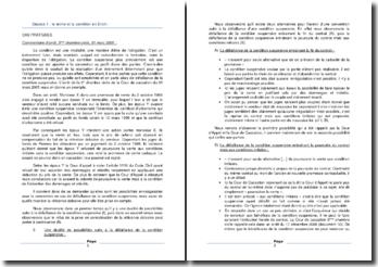 Commentaire d'arrêt de la 3ème chambre civile de la Cour de cassation du 31 mars 2005 : le terme et la condition