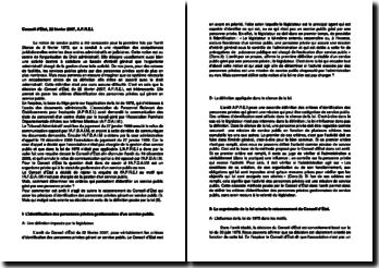 Commentaire d'arrêt du Conseil d'État du 22 février 2007 : l'identification d'un service public géré par une personne privée