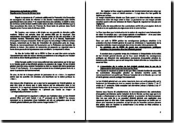 Commentaire de l'arrêt de la CEDH du 29 mars 2010 : Depalle contre France