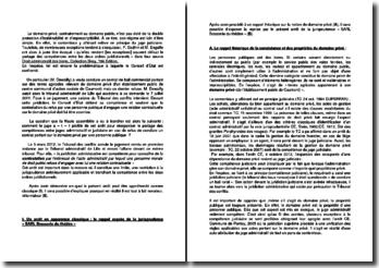 Commentaire d'arrêt du Tribunal des conflits du 5 mars 2012 : le partage des compétences entre les deux ordres juridictionnels
