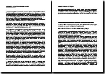 Commentaire d'arrêt du Conseil d'Etat du 28 avril 2014 : l'identification du domaine public