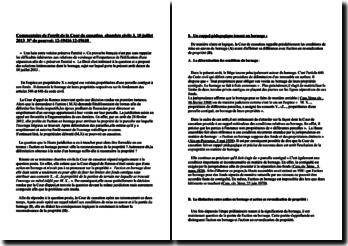 Commentaire d'arrêt de la Troisième Chambre civile de la Cour de cassation du 10 juillet 2013 : l'action en bornage