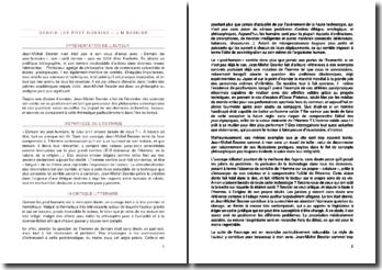 Demain les post-humains, Jean-Michel Besnier