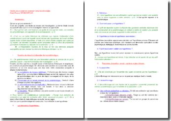 Construire un projet en sciences humaines et sociales - Marie-France Grinschpoun