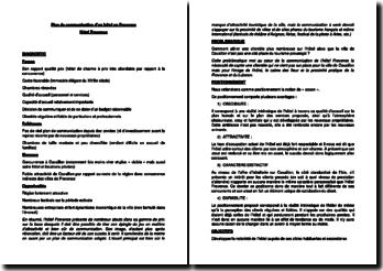 Plan de communication d'un hôtel en Provence : Hôtel Provence
