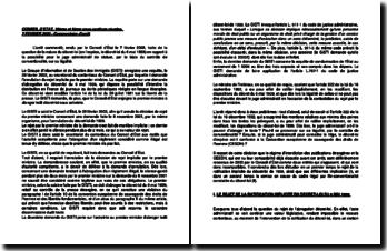 Commentaire d'arrêt des 10ème et 9ème sous-sections réunies du Conseil d'Etat du 7 février 2003 : la nature du décret-loi