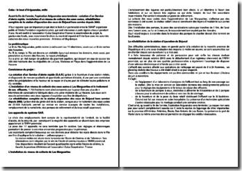 Communiqué sur l'opération Ariguanabo à Cuba