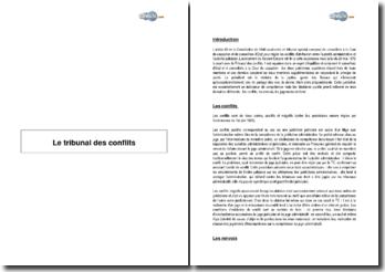 Le tribunal des conflits (2001) - renvois et jugements au fond