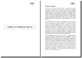 L'affaire du Rainbow Warrior