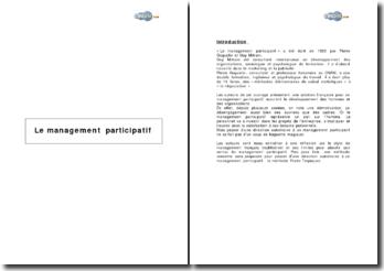 Le management selon G. Mitrani et P. Goguelin et la méthode Prado Tropiques de management