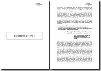La Missile Défense