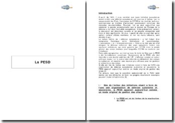 La PESD