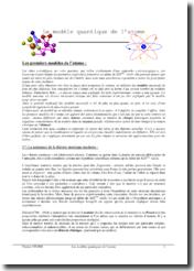 Le modèle quantique de l'atome