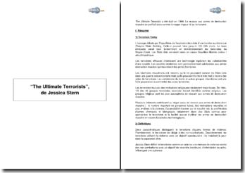The Ultimate Terrorists de Jessica Stern