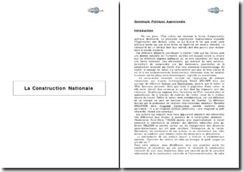 La Construction Nationale