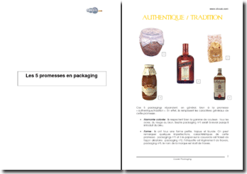 Les 5 promesses en packaging
