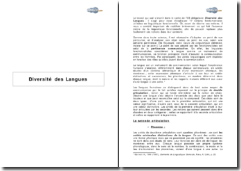 17 notions fondamentales utilisées en linguistique fonctionnelle