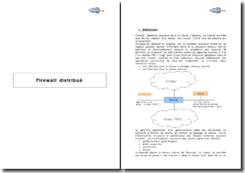 Firewall distribué