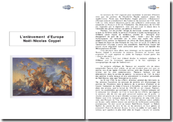 L'Enlèvement d'Europe : Noël-Nicolas Coypel