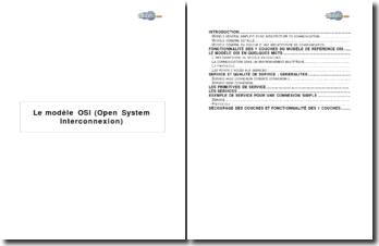 Le modèle OSI (Open System Interconnexion)