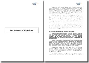 Algésiras, Bismarck et le Pangermanisme