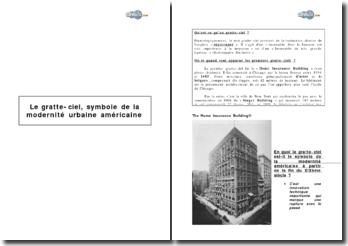 Le gratte-ciel, symbole de la modernité urbaine américaine