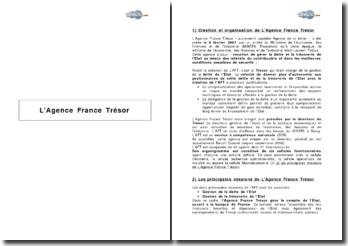 L'Agence France Trésor