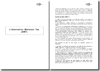 L'Alternative Minimum Tax (AMT)