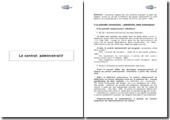 Le contrat administratif et l'extension du procédé contractuel (2007) - de l'Économie vers le Droit