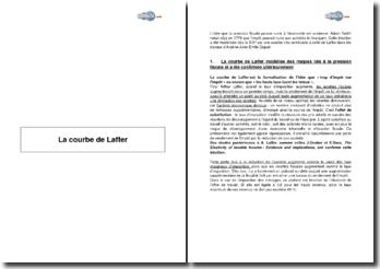 La courbe de Laffer et les risques liés à la pression fiscale