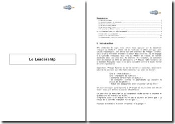 Le leadership et les principes universels de Fayol