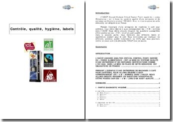 Contrôle, qualité, hygiène, labels