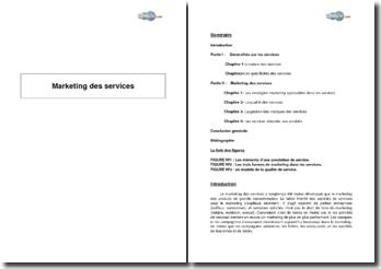 Introduction au marketing des services