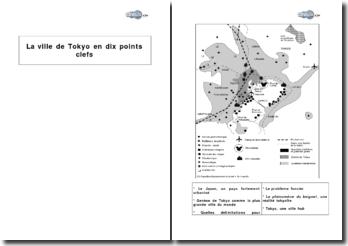 La ville de Tokyo en dix points clefs
