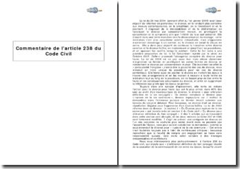 Article 238 du Code Civil : le divorce par consentement mutuel