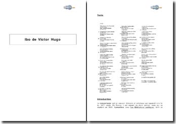 Ibo, in Les Contemplations de Victor Hugo