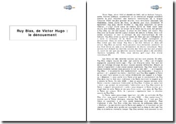 Ruy Blas, de Victor Hugo : le dénouement