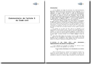 Article 5 du Code civil : interdiction pour les juges d'émettre des dispositions générales ou réglementares