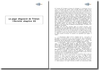 Le page disgracié de Tristan l'Hermite, chapitre XX