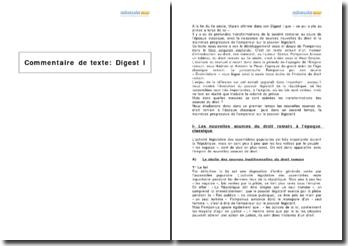 Libro singulari enchiridii de Pomponius, développements onze et douze