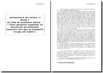 Article 11 alinéa 3 du Code de procédure pénale : les fenêtres d'instruction et la prévention des atteintes à la présomption d'innocence
