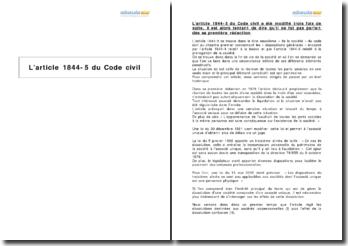 L'article 1844-5 du Code civil - la dissolution-confusion