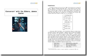 Conversin' with the Elders, James Carter