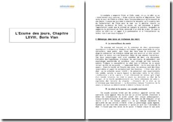 L'Ecume des jours, chapitre 68, Boris Vian