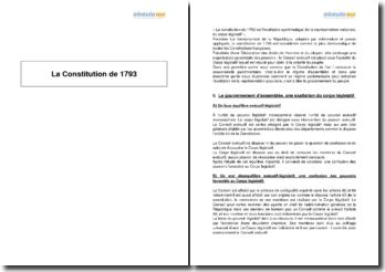 La Constitution de 1793