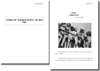 À propos de Nice, Jean Vigo (1930)