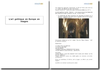 L'art gothique en Europe en images