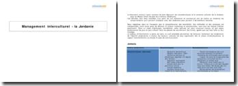Management interculturel - la Jordanie